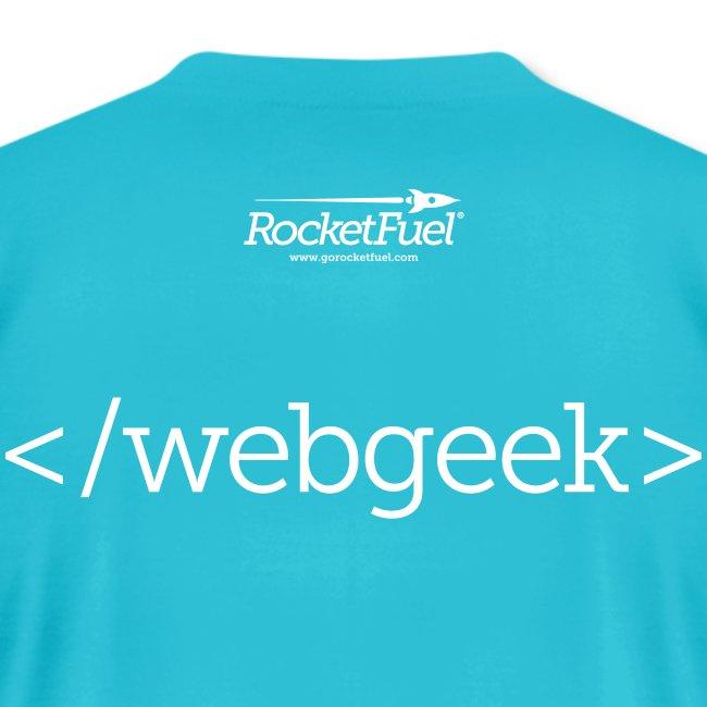 webGeek Men's T-Shirt by American Apparel