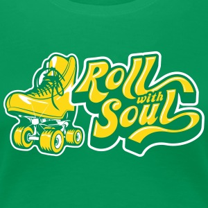 Roll With Soul Vintage - Women's Premium T-Shirt