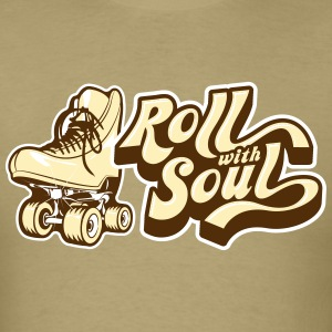Roll With Soul Vintage - Men's T-Shirt
