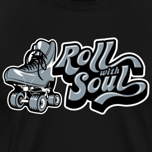 Roll With Soul Vintage - Men's Premium T-Shirt