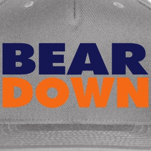 BEAR DOWN - Snap-back Baseball Cap