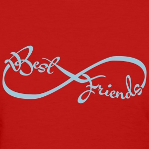 Best friends forever Women's T-Shirts - Women's T-Shirt