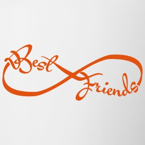 Best friends forever Bottles & Mugs - Contrast Coffee Mug