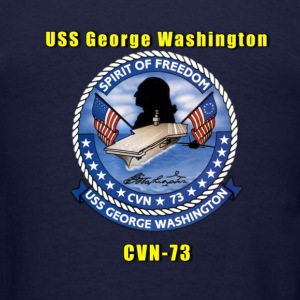 USS George Washington CVN-73 Shirt - Men's T-Shirt