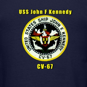USS John F Kennedy Shirt - Men's T-Shirt