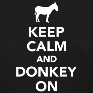 Keep calm and Donkey on Women's T-Shirts - Women's T-Shirt