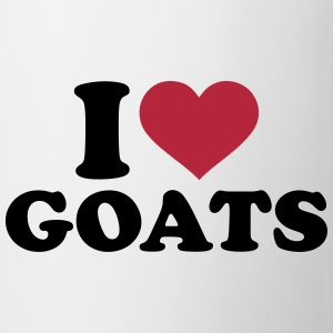 I love Goats Bottles & Mugs - Coffee/Tea Mug