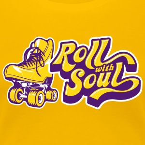 Roll with Soul Retro - Women's Premium T-Shirt