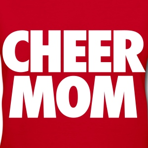 Cheer Mom Women's T-Shirts - Women's V-Neck T-Shirt