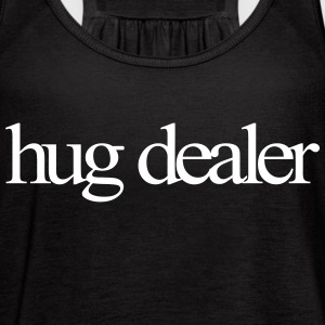 Hug Dealer Tanks - Women's Flowy Tank Top by Bella