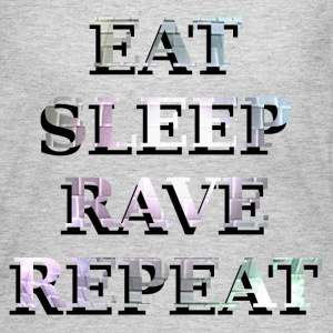 EAT SLEEP RAVE REPEAT Long Sleeve Shirts - Women's Long Sleeve Jersey T-Shirt