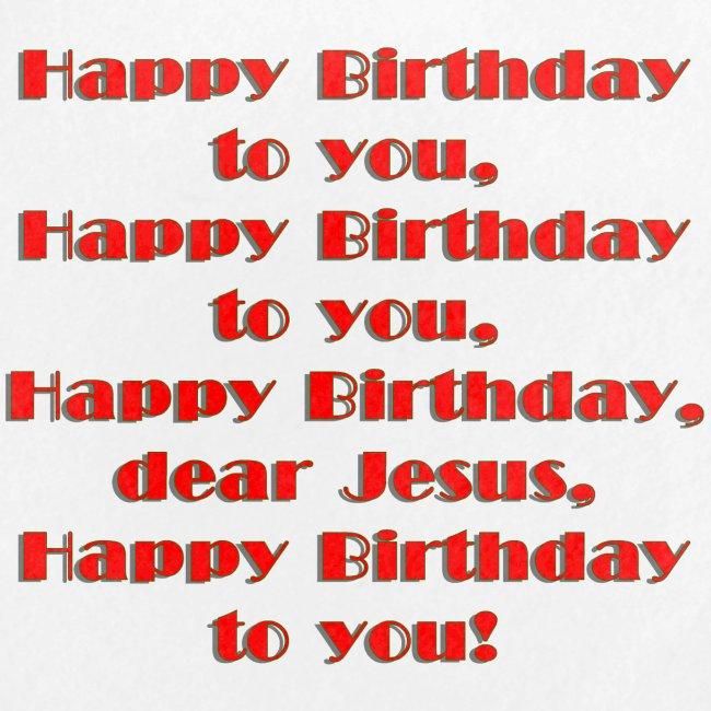 Happy Birthday Jesus Button 5 Pack