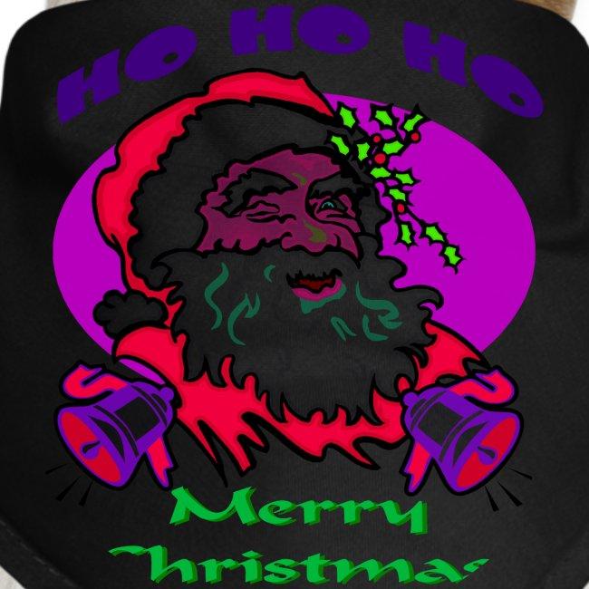 Ho Ho Ho Merry Christmas Dog Bandana