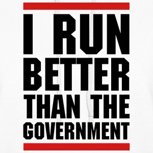 Run Better Than The Government  Hoodies - Women's Hoodie