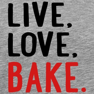baking T-Shirts - Men's Premium T-Shirt