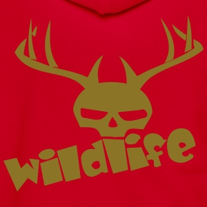 wildlife Zip Hoodies & Jackets - Unisex Fleece Zip Hoodie by American Apparel
