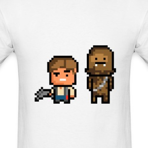 Han and Chewie - Men's T-Shirt
