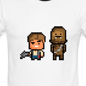 Han and Chewie - Men's Ringer T-Shirt
