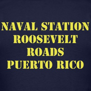Naval Station Roosevelt Roads Shirt - Men's T-Shirt