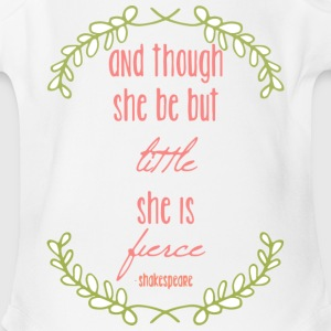 Little But Fierce Baby & Toddler Shirts - Short Sleeve Baby Bodysuit