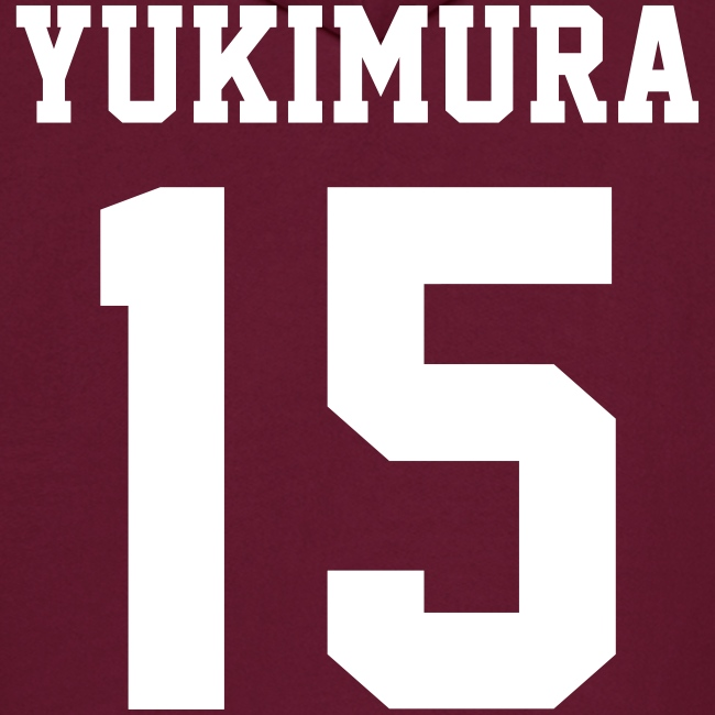 """YUKIMURA 15"" - Hoodie (XL Logo, NBL)"