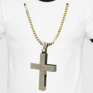 GOLD CHAIN T-Shirts - Men's Ringer T-Shirt
