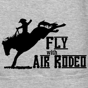 Fly with Air Rodeo Long Sleeve Shirts - Crewneck Sweatshirt