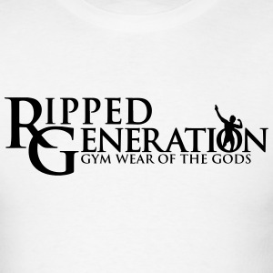 Ripped Generation - Gym Wear of the Gods Logo T-Sh - Men's T-Shirt