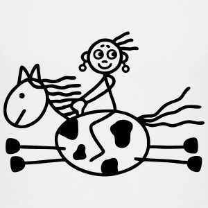 Rider woman - Western Riding Baby & Toddler Shirts - Toddler Premium T-Shirt