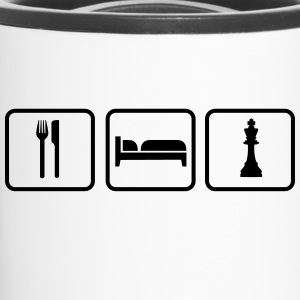 Eat Sleep Chess Bottles & Mugs - Travel Mug
