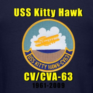 US Navy USS Kitty Hawk CV-63 Tribute Shirt - Men's T-Shirt