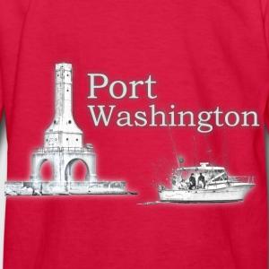 Lighthouse t shirts spreadshirt for Port washington fishing