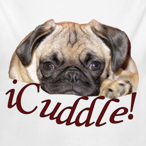 iCuddle Pug Puppy Baby & Toddler Shirts - Long Sleeve Baby Bodysuit