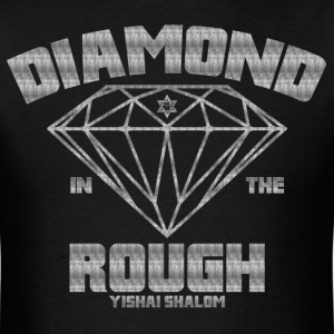 Diamond In The Rough - Scratched  - Men's T-Shirt