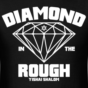 Diamond In The Rough - White - Men's T-Shirt