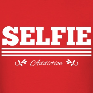 Selfie Addiction - White - Men's T-Shirt