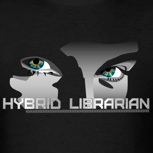 """Hybrid Librarian"" Men's T-Shirt"