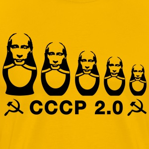 CCCP 2.0 Putin matryoshka Evolution Shirt - Men's Premium T-Shirt