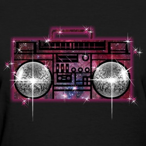 Space Cosmic Stereo Glittering - Women's T-Shirt