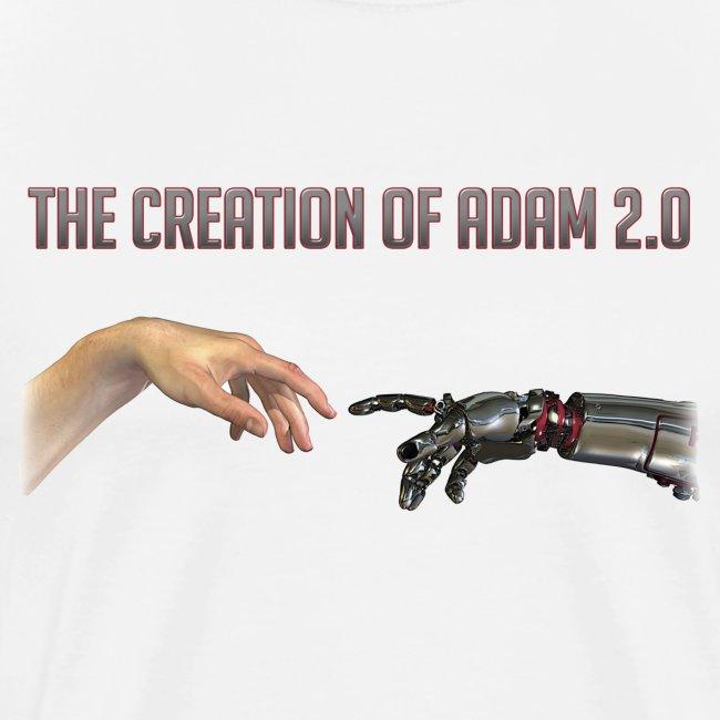 "Hybrid Librarian's ""Creation of Adam 2.0"" Men's T-Shirt"