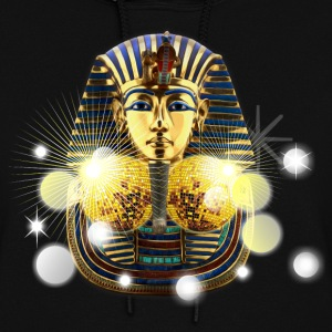 Golden Mask of Egyptian Disco Ball - Women's Hoodie