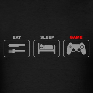 Eat Sleep Game Gaming - Men's T-Shirt