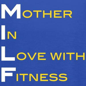 Milf Mother In Love With Fitness  Tanks - Women's Flowy Tank Top by Bella