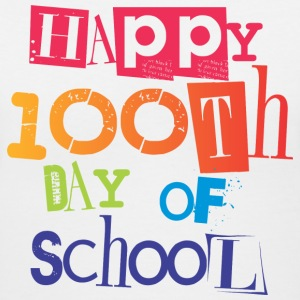 Happy 100th Day of School | Women's V-Neck - Women's V-Neck T-Shirt