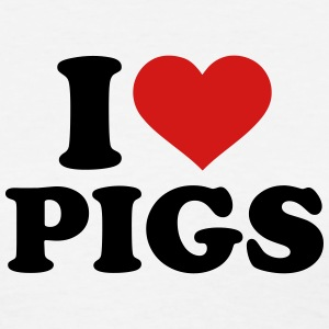 I love Pigs Women's T-Shirts - Women's T-Shirt