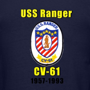 USS Ranger CV-61 Tribute Shirt - Men's T-Shirt