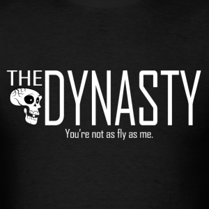The Dynasty T-Shirt (white text) - Men's T-Shirt