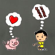 Design ~ Boys Love Bacon, Too (Men's)