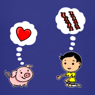 Design ~ Boys Love Bacon, Too (Kids)