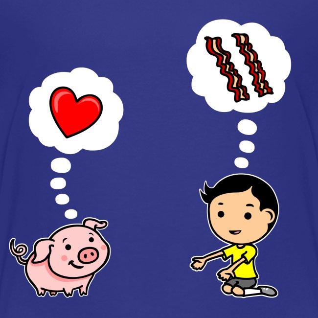 Boys Love Bacon, Too (Toddler)